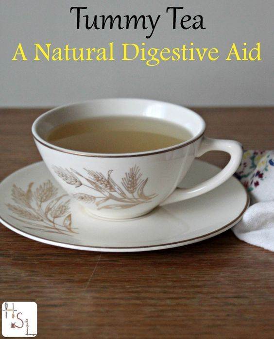 Soothe an angry stomach with tummy tea, a natural digestive aid with chamomile, ginger, lemon balm, and plantain.
