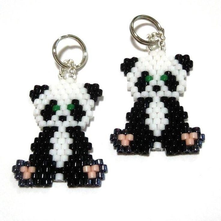 Panda Brick Stitch