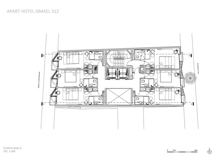 Gallery - Ismael 312 Apart Hotel / Estudio Larrain - 16