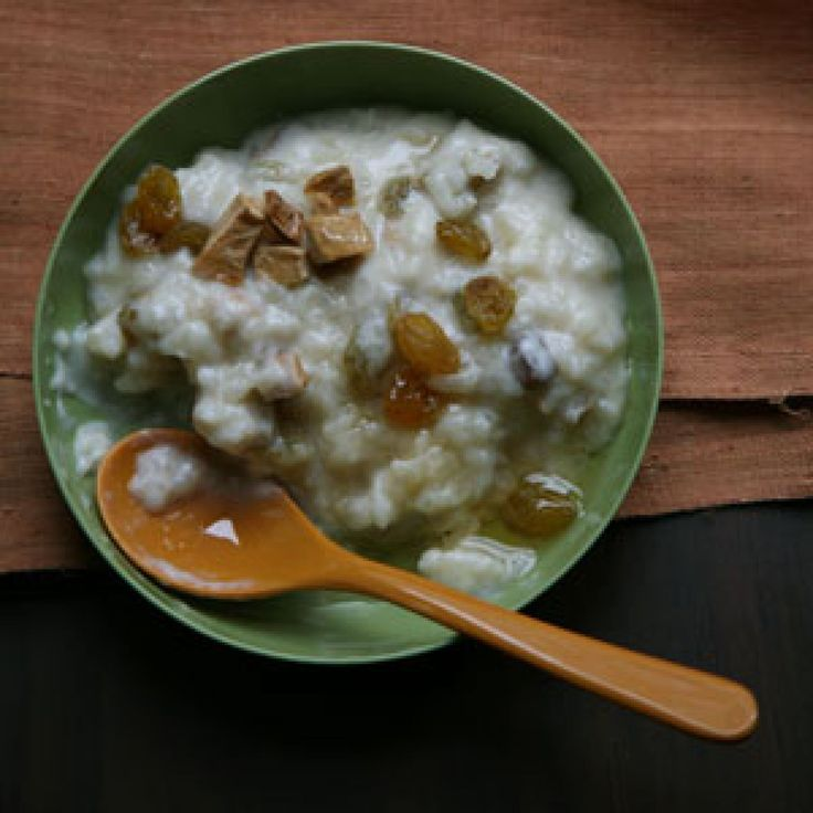 TIBETAN RICE PUDDING - Jasmine rice gives this rich pudding a thick, smooth texture.