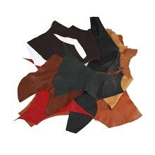Real Leather, asstd colors, 2 kg