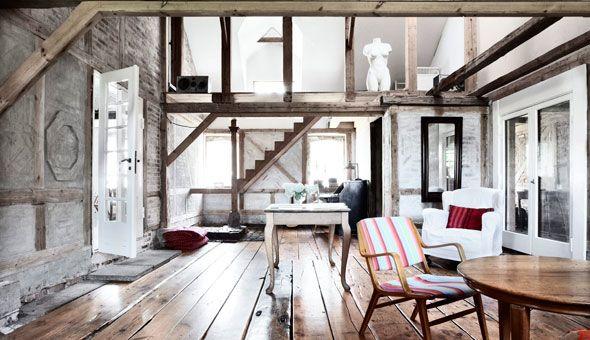 Casa in StileDiversity Projects, Decoracion Nordica, Art Studios, Expo Beams, Decoration, Rustic Living Rooms, Interiors Design, Danishes Modern, House Hom
