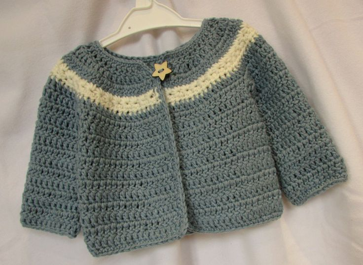 1000+ ideas about Crochet Baby Sweaters on Pinterest ...