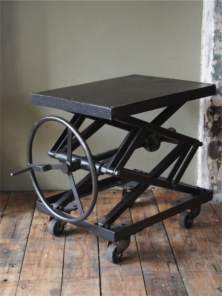 81 Best Images About Scissor Lift Table On Pinterest Welding Table Adjustable Table And