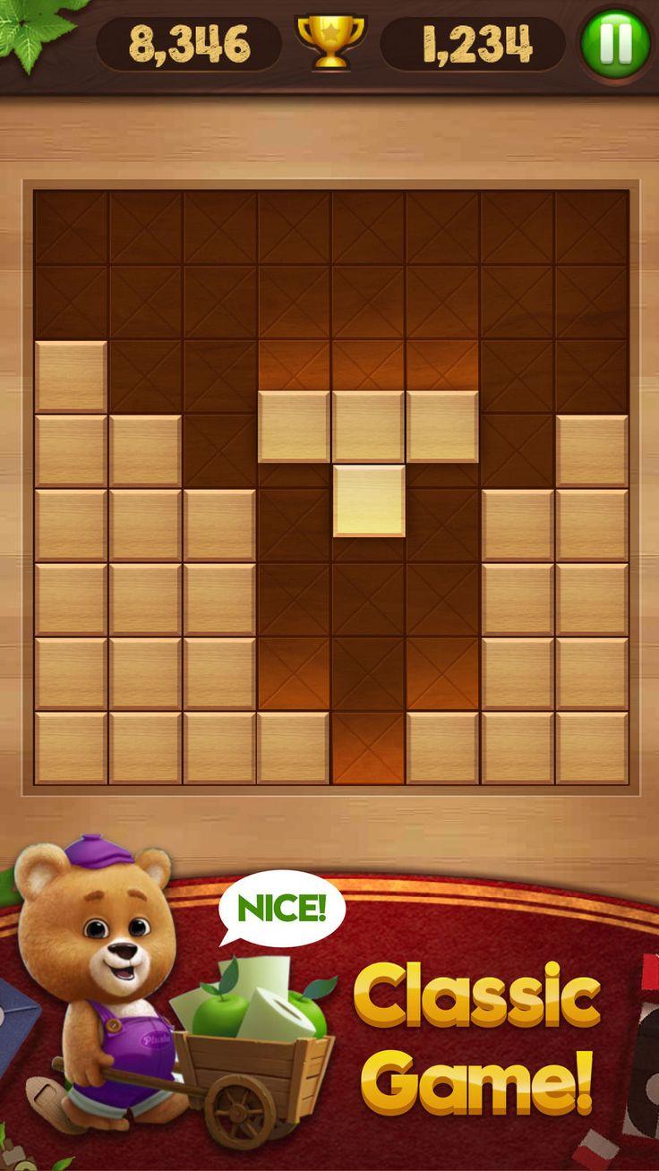 Block Puzzle Wood BoardGamesiosEntertainment Classic