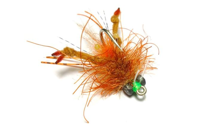 how to fish a crawdad fly