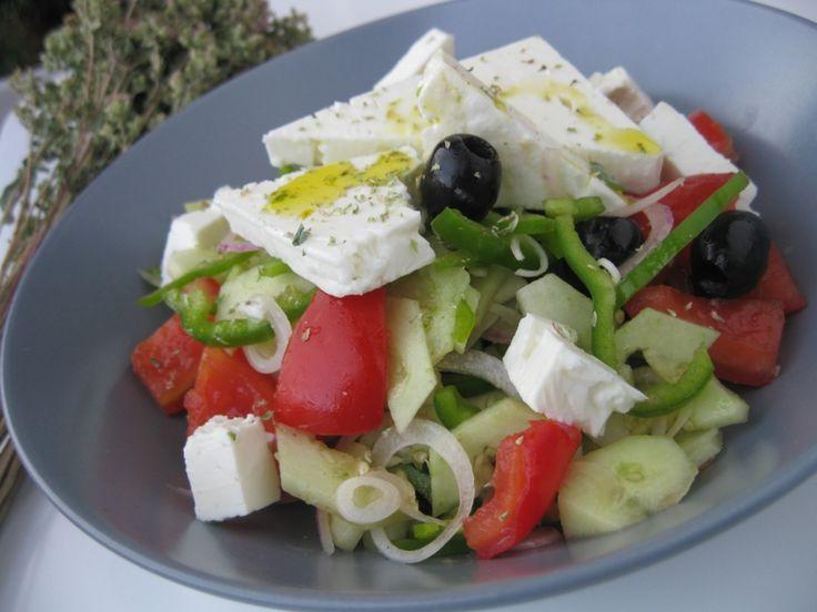 Ricetta Insalata greca light, calorie e valori nutrizionali