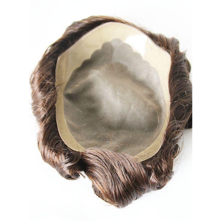 men's hair, hair replacement system, men's toupee #men #toupee #hairsystem  Price: $199.00