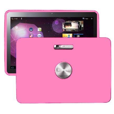 Soft Shell (Lyse Rosa) Samsung Galaxy Tab 10.1 P7100 Deksel