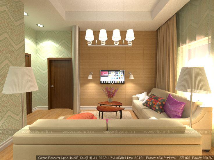 Дизайн второго этажа дома (Дизайн и проектирование SokoraStudio) — Диванди
