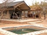 Private Pool and tent