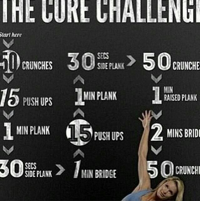 Insane core workout! Great for volleyball and conditioning!