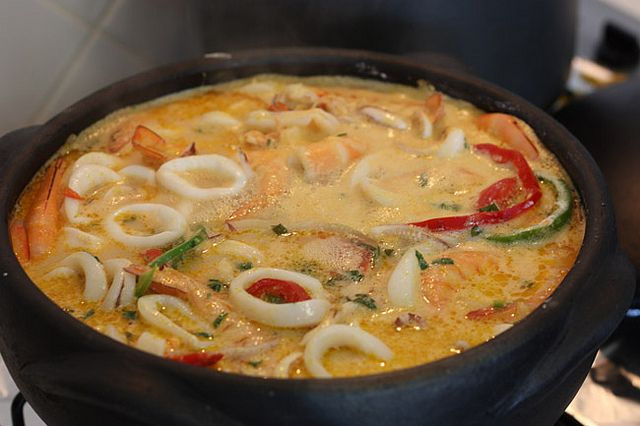 Moqueca Baiana - the picture doesn't give this dish justice! Soo tasty :)