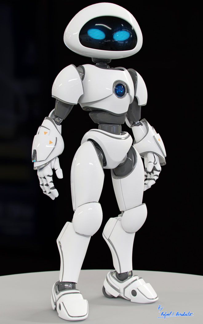 Ik vind deze robot leuk en ik wil in mijn robot ook iets met een radio als hoofd doen en ik denk dat dit de goede vorm daarvoor is.