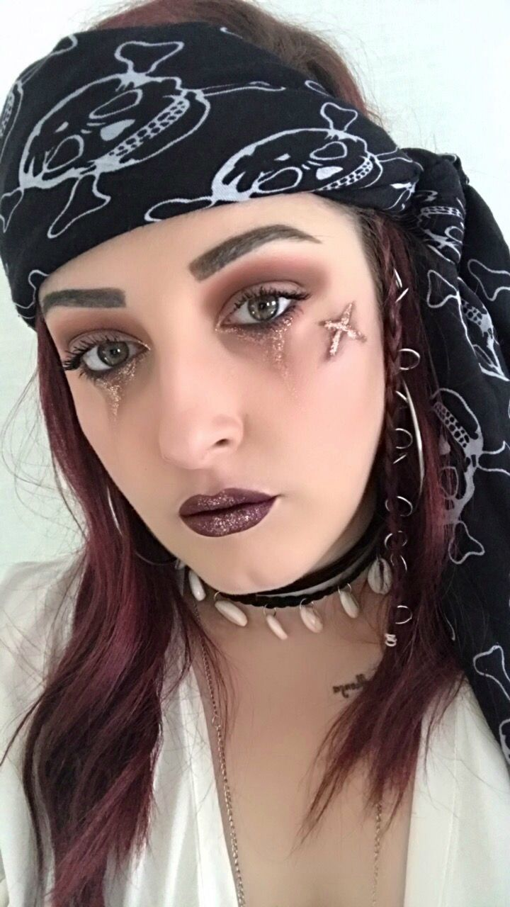 Halloween pirate Makeup  BeautySoulmates Channel
