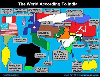 World according to a Indian ..
