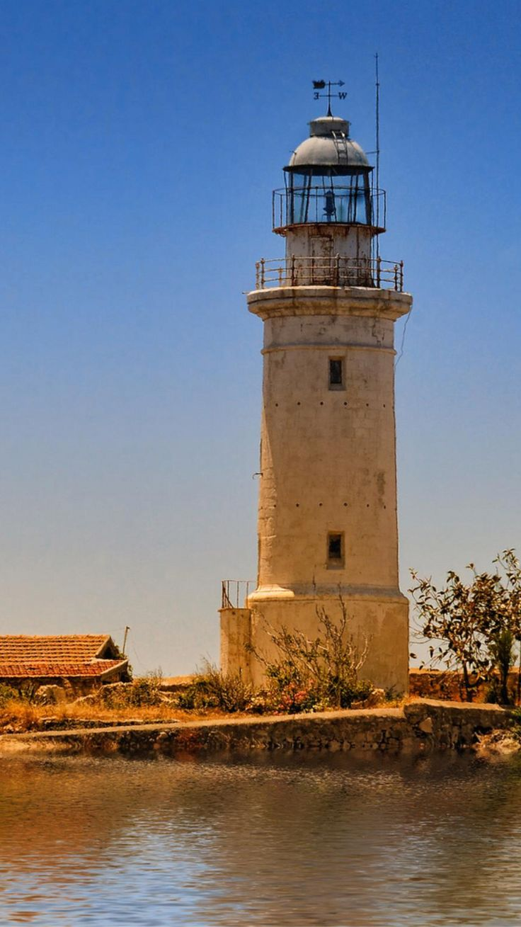 Paphos #Lighthouse in #Cyprus - by Saving Private Emily    http://dennisharper.lnf.com/
