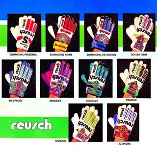 1993/94 @reuschuk @reusch_brand Catalogue Page #classicgloves