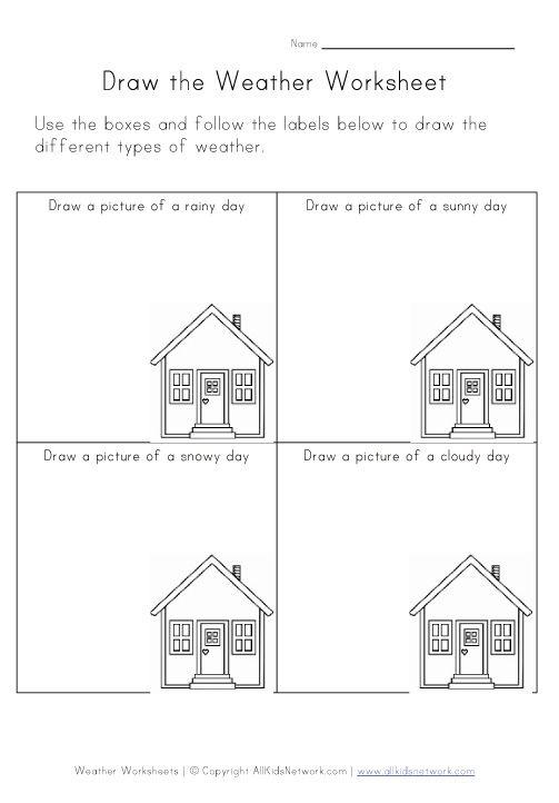 Weather Worksheets For Kids Free Worksheets Library – Weather Worksheets for Preschool