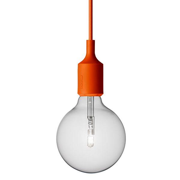 E27 lamppu, oranssi