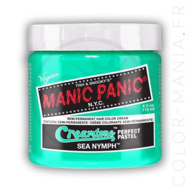 Coloration Cheveux Vert Menthe Sea Nymph – Manic Panic | Color-Mania