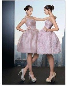 vestidos rosa claro cortos
