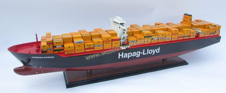 Hapag-Lloyd Hamburg Express Container ship model