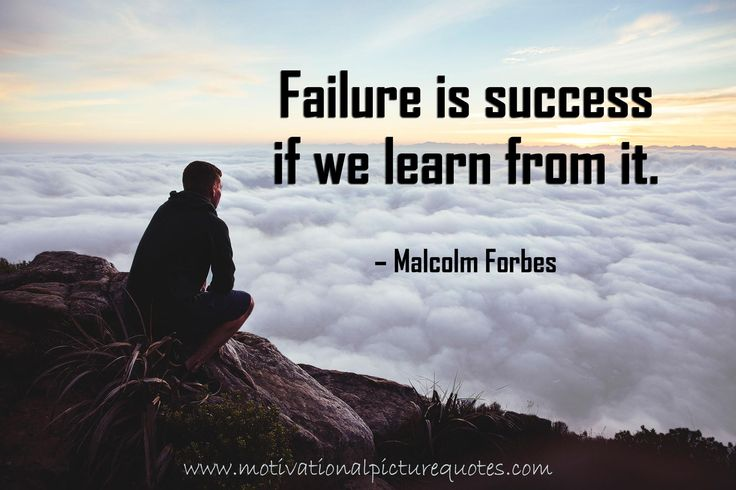 Malcolm Forbes Quotes about Failure