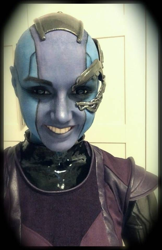 Nebula from Guardians of the Galaxy #cosplay