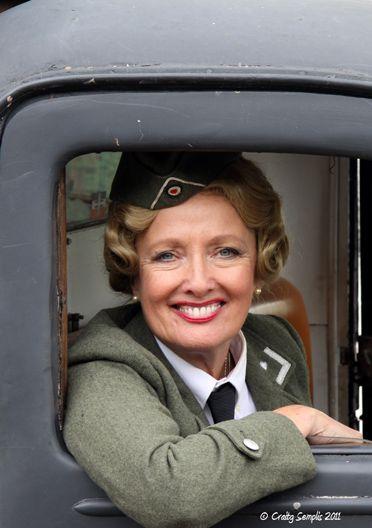 Kim Hartman from British comedy ' Allo Allo ' taken at War ...
