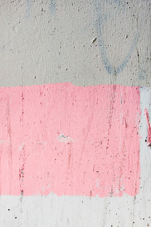 Pink, white, and grey - Color & texture