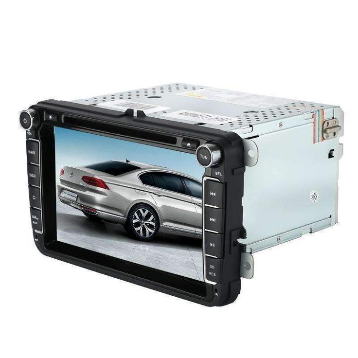 Wallmart.win 2 DIN Car DVD Player VW Passat 8 Inch Display Android 7.1 WiFi 3G Support Car DVR Parking Camera GPS