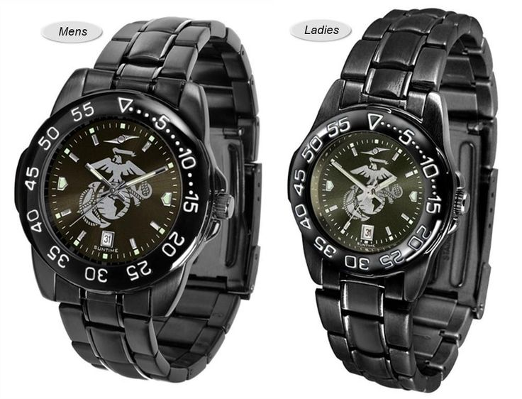 The Fantom Sport AnoChrome US Marine Corps Watch is available in a Mens style. Showcases the military logo. Color-coordinated linked steel band Free Shipping. Visit SportsFansPlus.com for Details.