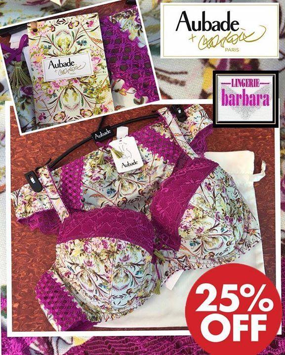 Aubade ook met 25 % korting bij Lingerie Barbara Landgraaf. #intimatesecrets #intimate apparel #lingerie #bras #braandbriefsets #panties #slips #bustiers #corsets #shapers #longjohns #camisoles #tanks #tubetops