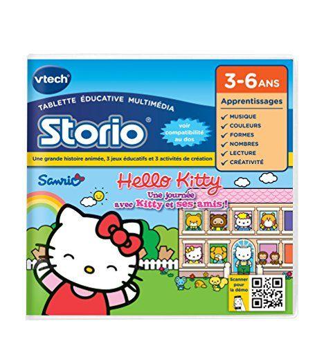 Vtech - 231105 - Storio 2 et générations suivantes - Jeu éducatif - Hello Kitty VTech http://www.amazon.fr/dp/B007WBAL7W/ref=cm_sw_r_pi_dp_U8n7ub0E29T6E