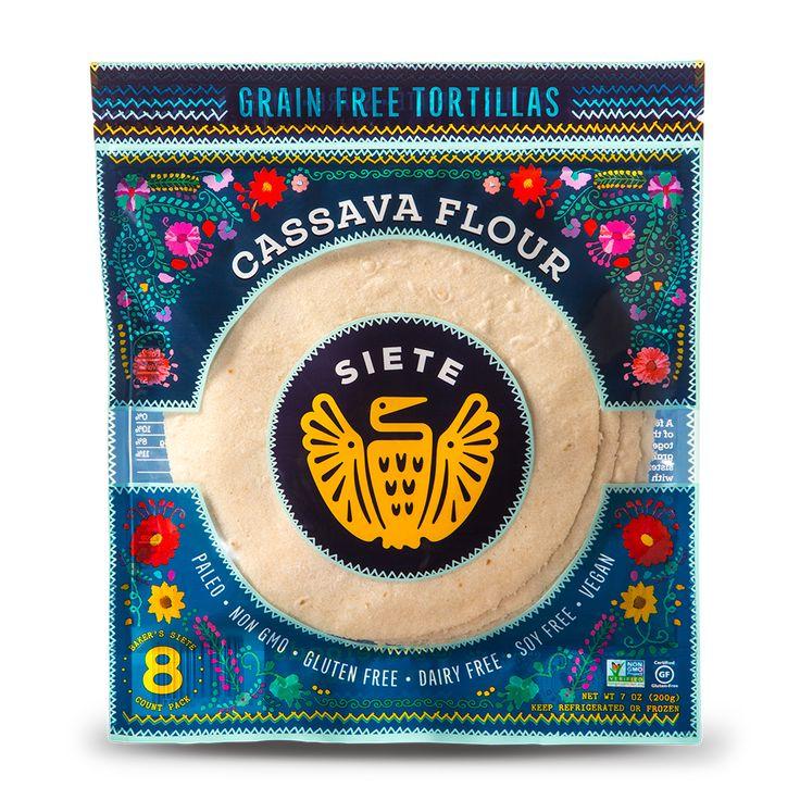 Cassava coconut tortillas 6 packs flour tortillas