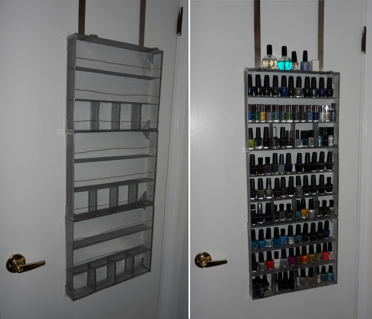Nail Polish Rack With Door - Absolute cycle