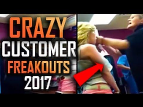 Crazy Customer Freakouts Compilation 2017 #2