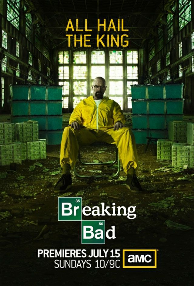 TV Dial: Poster For 'Breaking Bad' Season 5; 'Spartacus' Ending After Third Season; 3 Clips From 'True Blood' & More | The Playlist
