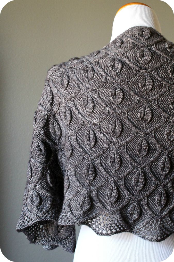 Never Not Knitting: The Secret Garden Shawl. Pattern is on Ravelry.