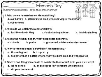 memorial day speeches for church