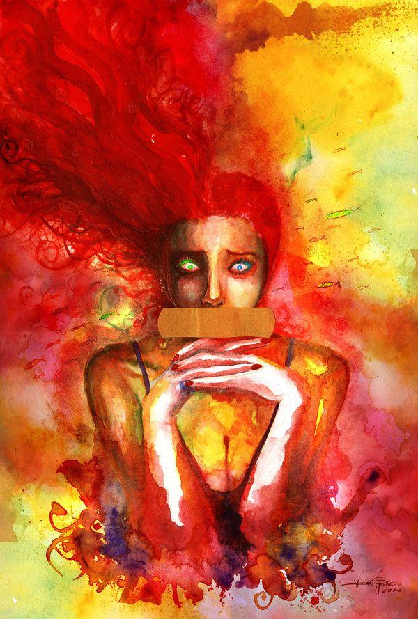 Delirium. Fan art by Javier G. Pacheco.