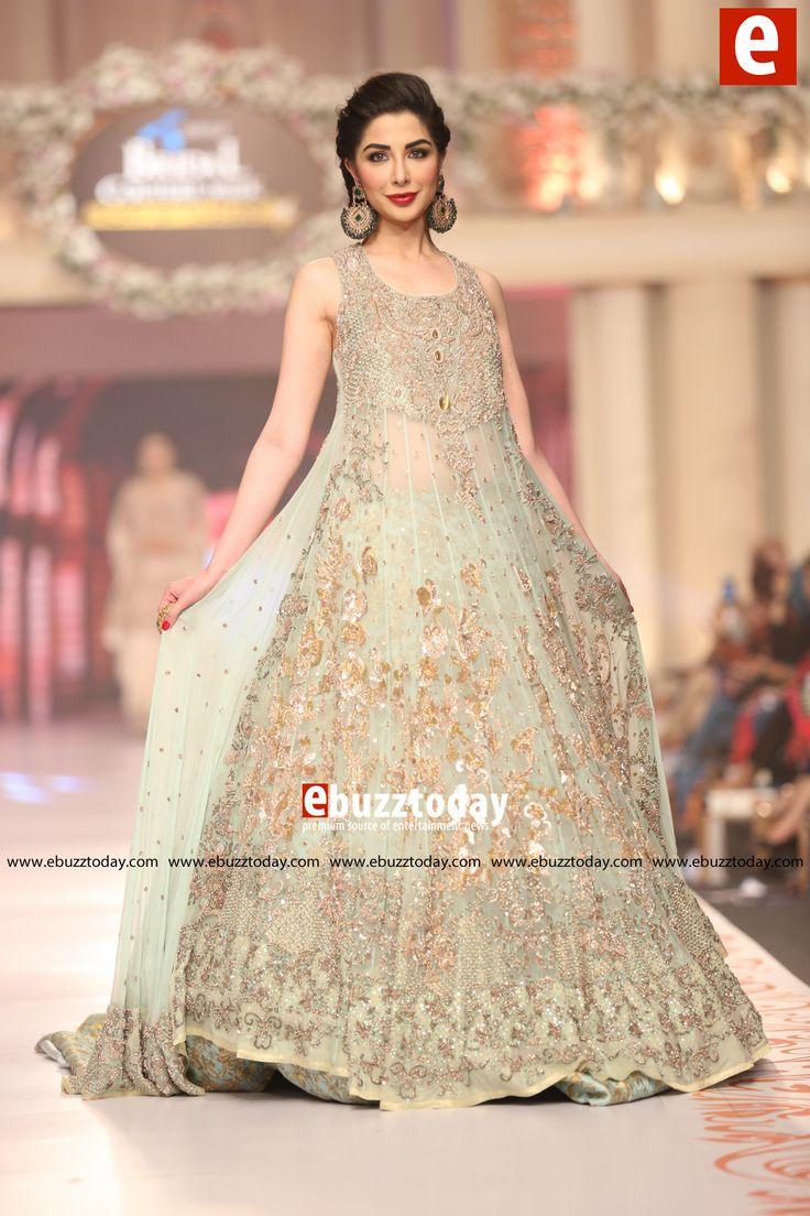 champane colour bridal dressess pakistan