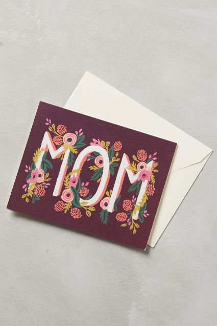 Dear Mom Card - anthropologie.com