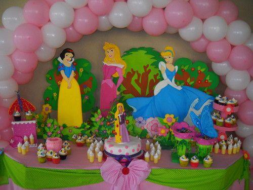 Ambientaciones cumplea os decoraci n en globos pi atas - Decoracion cumpleanos princesas ...