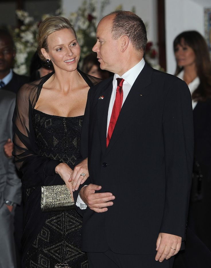 The Royal Couturier: Princess Charlene Jewelry-Pedia: Mark Gold Jewels