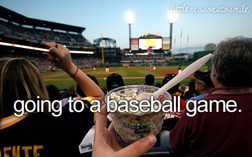 Going To Baseball Games
