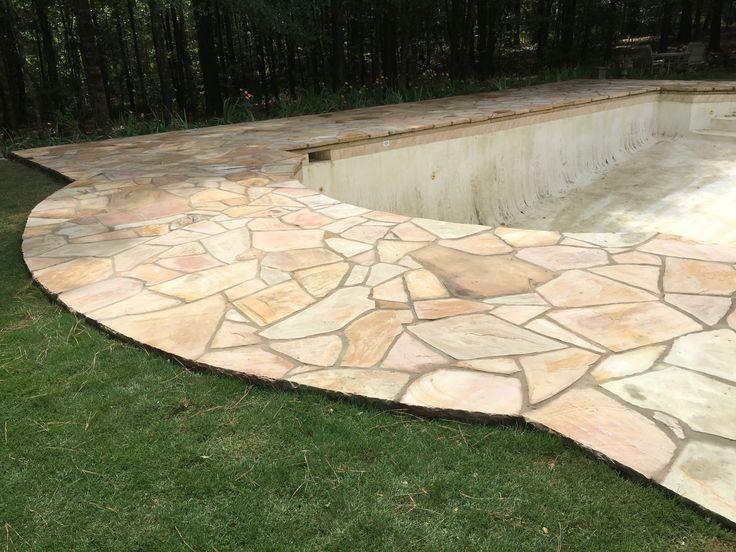 Flagstone Pool Deck Ideas For Inground Pools : Curated pools flagstone ideas by legendarystonem