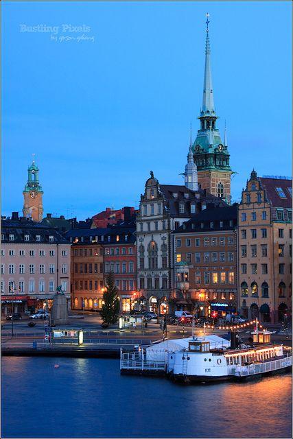 Gamla Stan ,Stockholm,Sweden