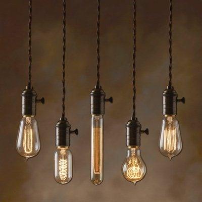 """Bulbrite NOS40-1910 Nostalgic """"1910"""" Incandescent Bulb"""